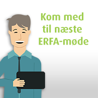 Invitation til ERFA-møde i april