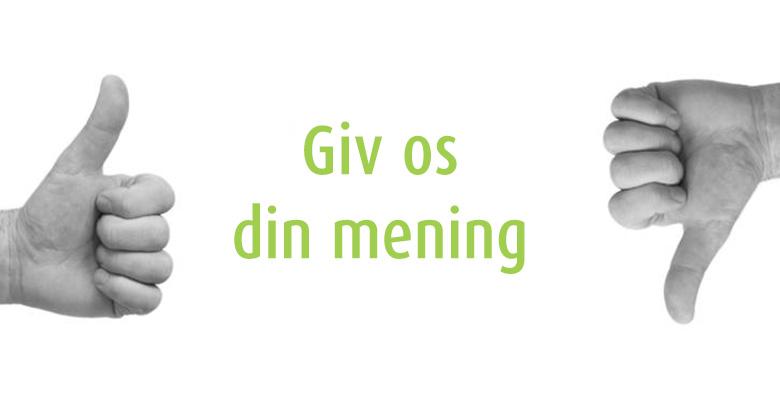 Fortæl os hvad du synes om det nye www.inLogic.dk