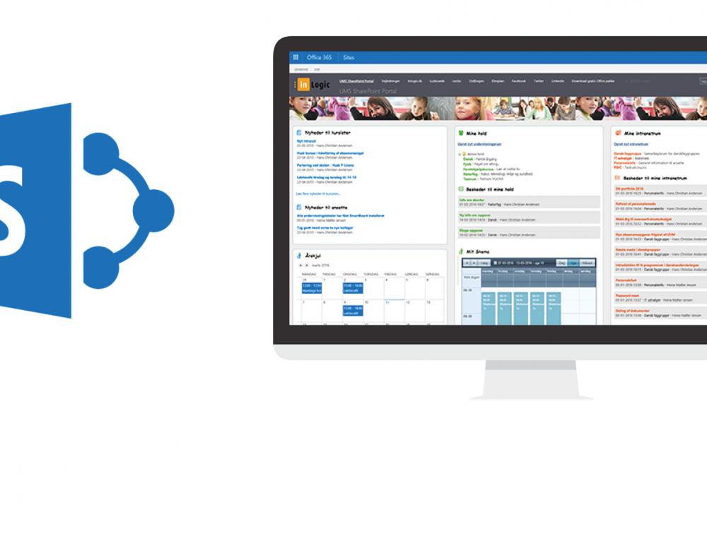 Nyt i UMS SharePoint Portalen